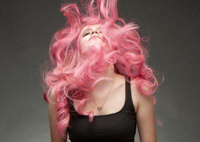 Balayage in punkig Pastell-Pink 3